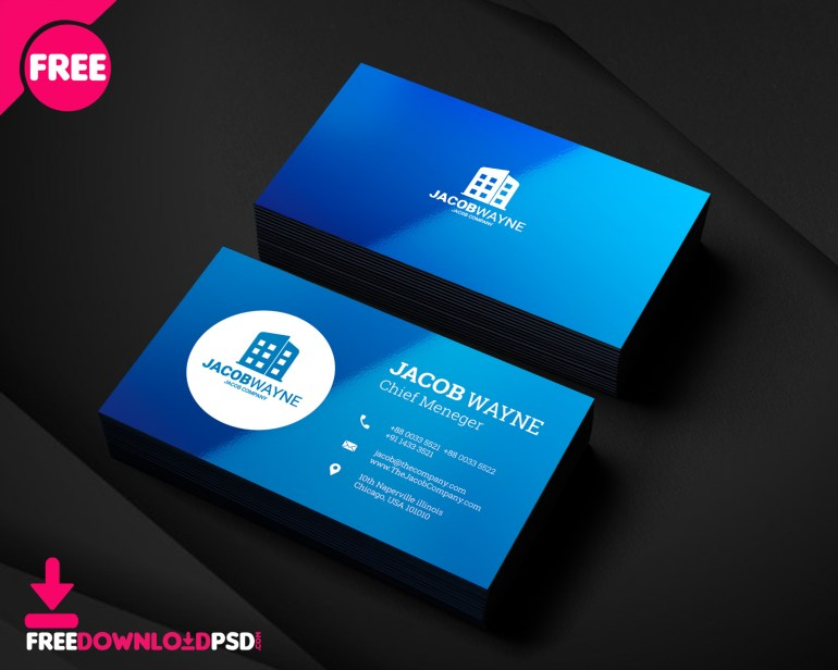 Real Estate Business Card PSD