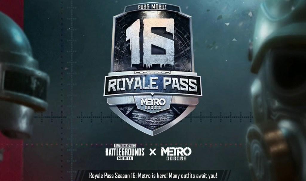 PUBG Mobile Latest Season 16 & Royal Pass 16