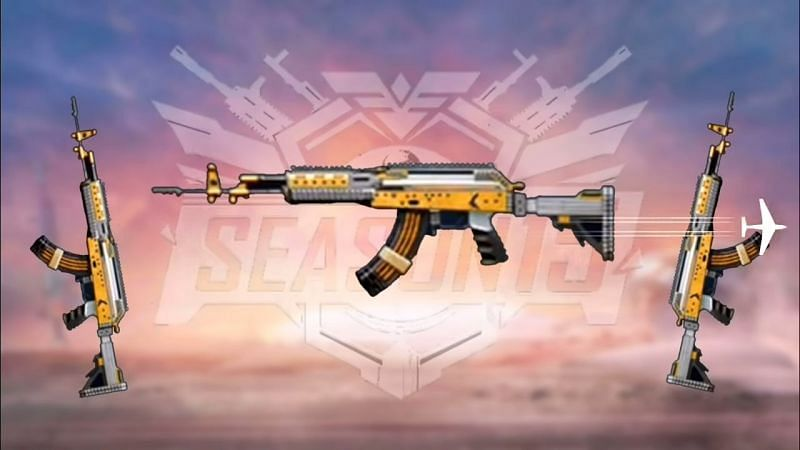 PUBG Mobile New Season M762 Beryl Skin
