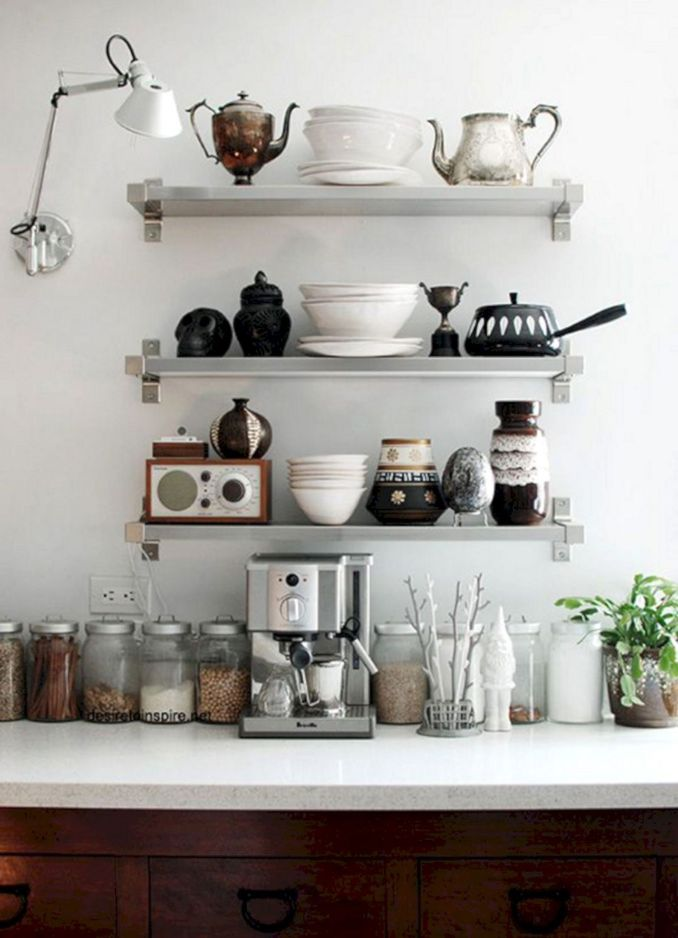Open Shelving Kitchen Shelves