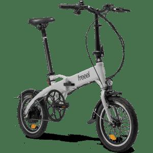 Bicicleta eléctrica Freeel Z03 Gris Claro