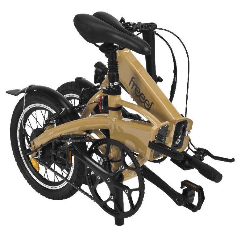 Bicicleta eléctrica Freeel Z03 Mostaza
