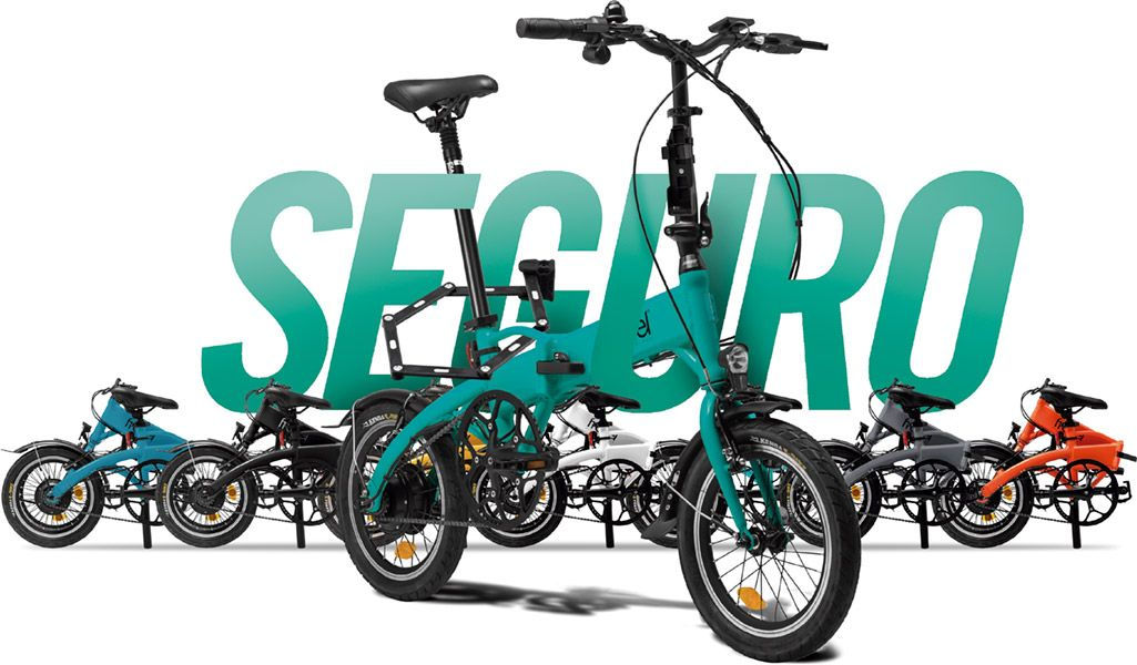 Bicicleta eléctrica plegable Freeel · Asegura tu Freeel