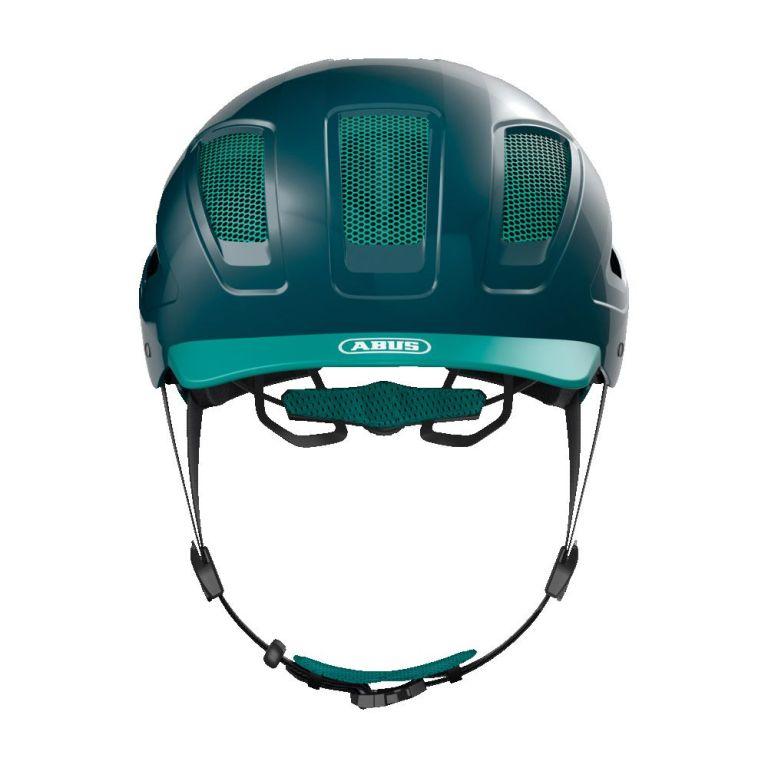 Casco Abus Hyban 2.0 Core Green para bicicleta eléctrica Freeel Z03
