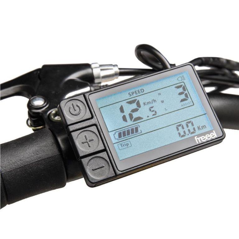 Freeel Bicicletas Eléctricas. Freeel Z03-S Amarillo, bicicleta eléctrica, plegable y ligera