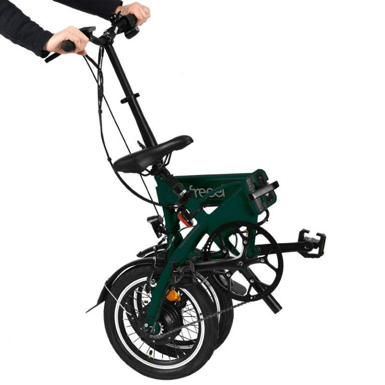 Freeel Bicicletas Eléctricas. Freeel Z03-S Verde Botella