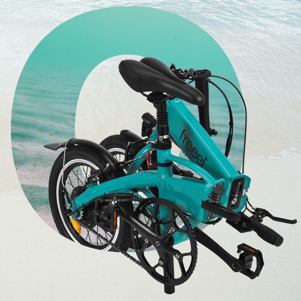 Freeel Bicicletas Eléctricas. Freeel Z03, la bicicleta plegable diseñada en Barcelona. Freeel Z03 Océano