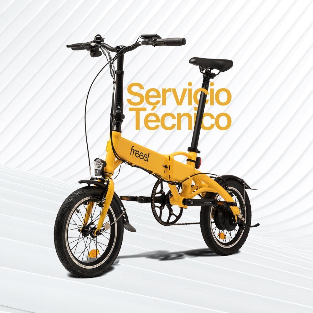 Reserva tu cita previa de servicio técnico en Freeel bicicletas eléctricas