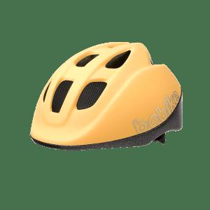 Casco Infantil Bobike XS Go Lemon Sorbet para bicicleta eléctrica Freeel. Seguridad y diseño para disfrutar en familia de tu bici