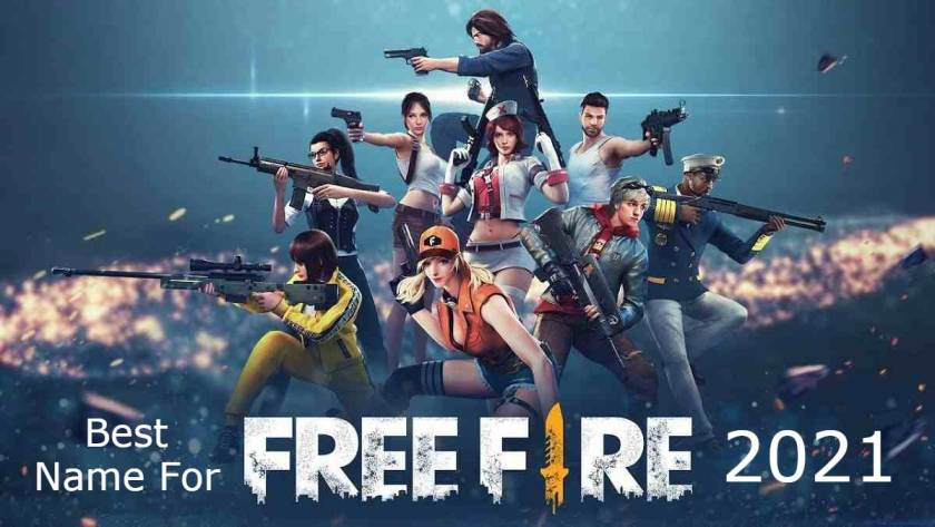 Best Name For Free Fire 2021