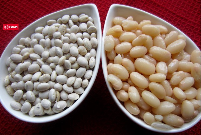 how to cook navy beans and navy beans benefits