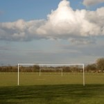 A pair of goalposts.