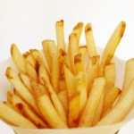 A bag of french fries.