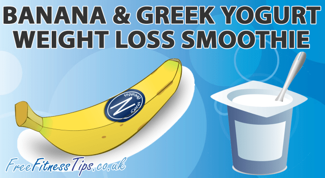 Banana & Greek Yogurt Weight Loss Smoothie
