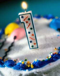 Happy 1st Birthday Devon EFT