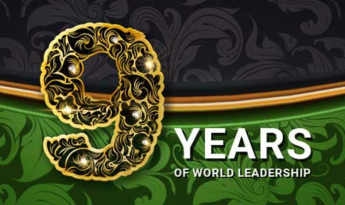 Get FBS Promo Gift 9 Years of World Leadership