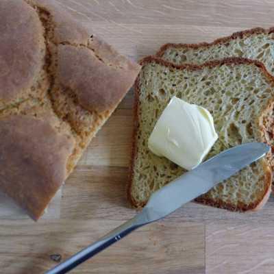 White Flax Seed Loaf