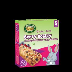 Berry Bobbly Rice Bites