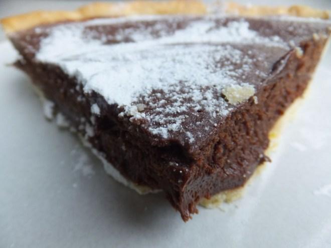 chocolate tart easter