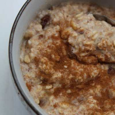Freefrom Holland & Barrett & a Carrot Cake Oatmeal Recipe