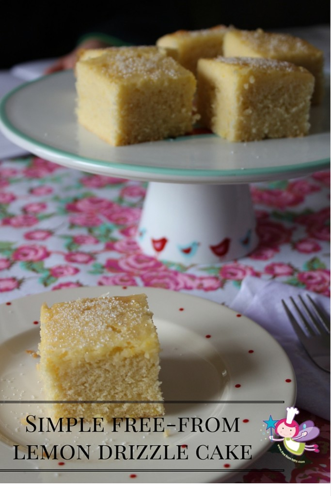 Simple free-fromlemon drizzle cake