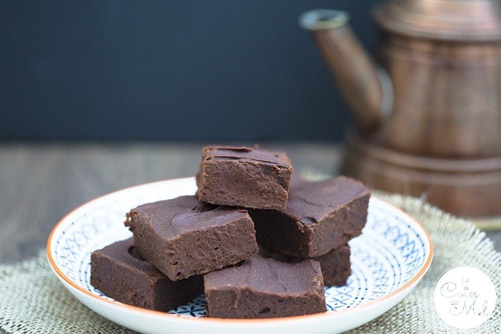 healthy-free-from-chocolate-brownies-on-a-plate