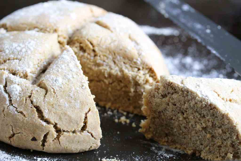 Simple wholegrain gluten-free, dairy-free and egg-free soda bread recipe made using the Free From Fairy flour blend.