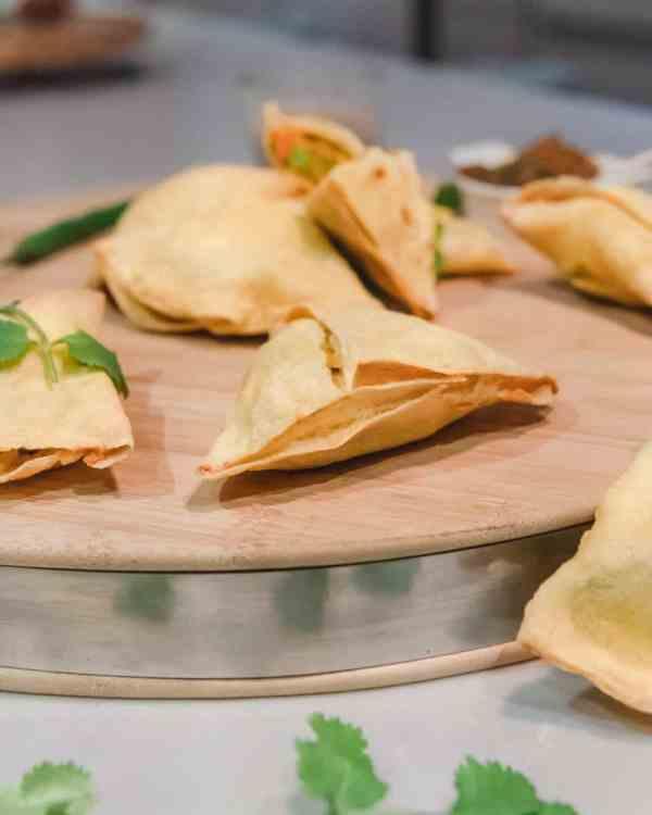 Veggie'Licious Samosas