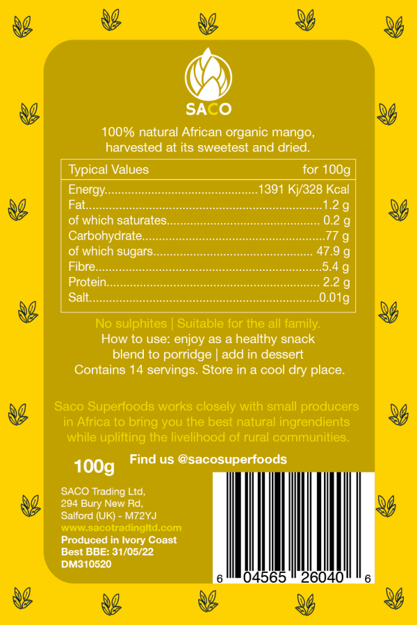 mango back label