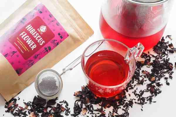 saco hibiscus tea