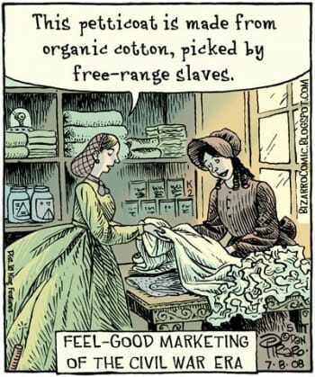 bizarro comics of free range eggs