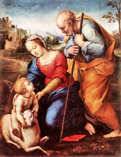 Raffaello Holy Family