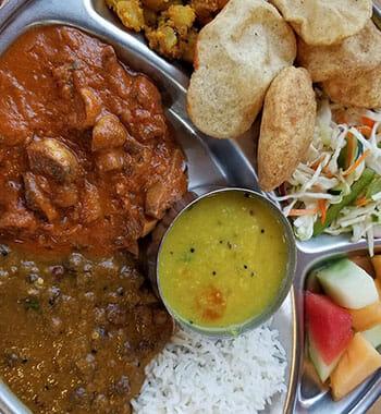 A tasty looking plate of vegan food