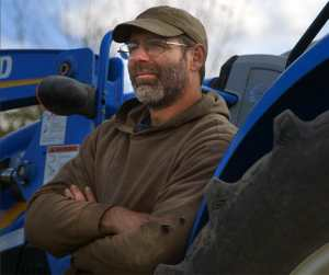 Bob Comis, former pig and sheep farmer