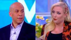 Corey Booker and Meghan McCain debate on The View.