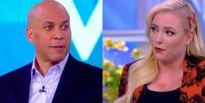 Megan McCain Challenges Cory Booker's Veganism on The View
