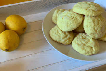 Easy Lemon Sugar Cookies Recipe