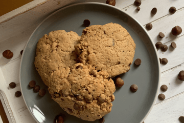 Easy vegan chocolate cookies Recipe