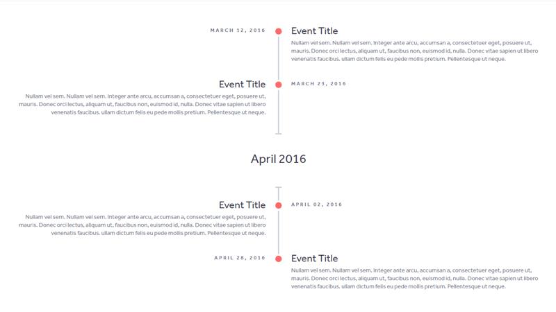 Demo Image: Simple Responsive Timeline