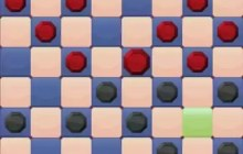 Two Players Checkers