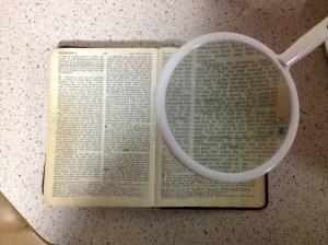 Contrasting Gospels