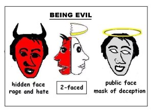 Two faced hypocrisy will be condemned