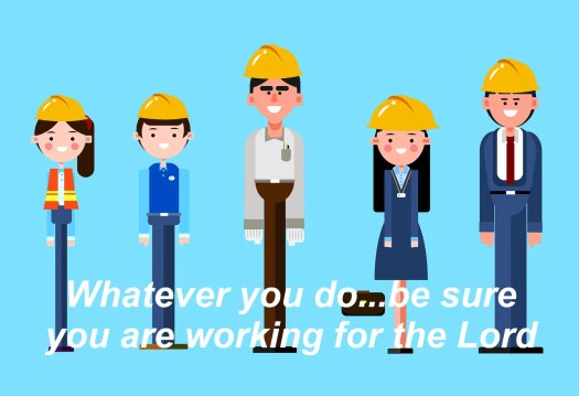 Are you working for a living with Christ...or just doing a job?