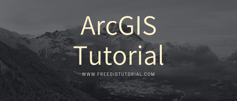 arcgis-tutorial