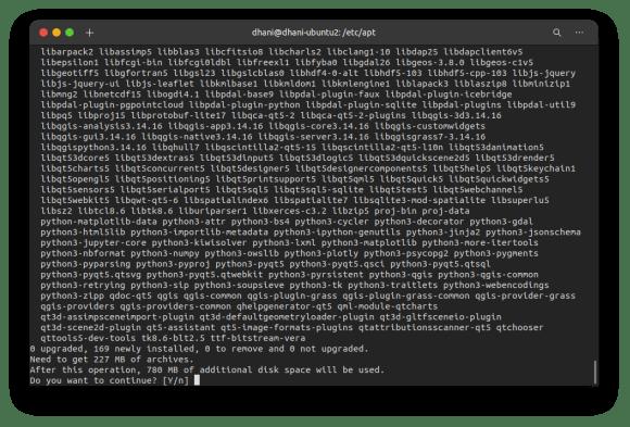 install qgis on ubuntu 20.04