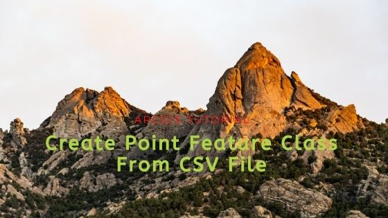arcgis create points