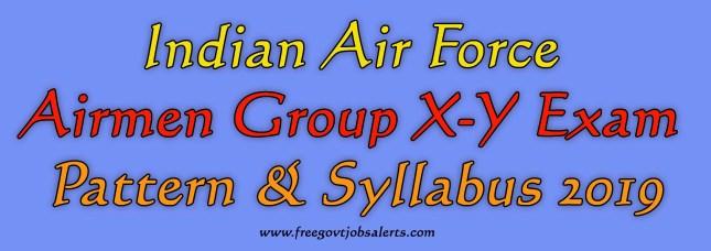 Airman Exam Pattern & Syllabus