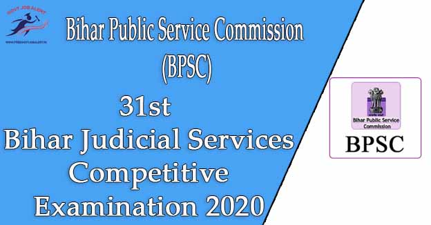 Bihar Judicial Services Competitive Exam 2020