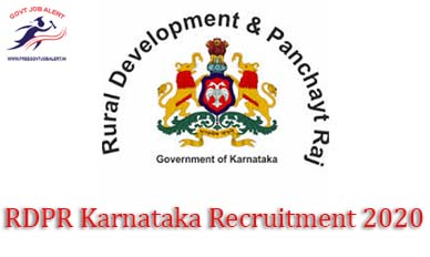RDPR Karnataka Recruitment 2020