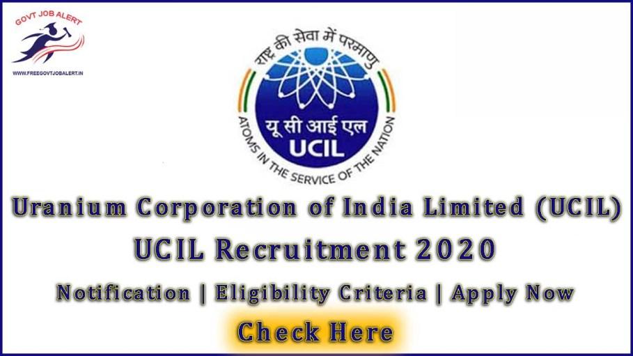 UCIL Recruitment 2020